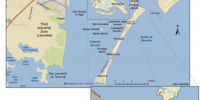 Elba Karte.Stadtplan Von Venedig Maps Venedig Italien