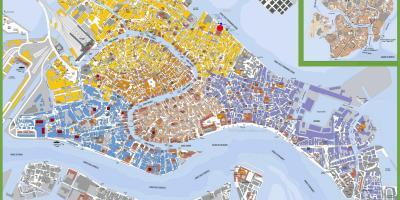 Stadtplan Von Venedig Maps Venedig Italien